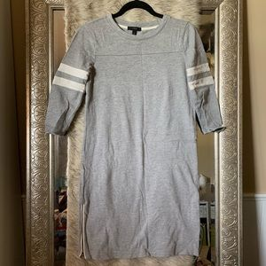 XXS gray baseball dress
